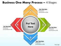 Business One Many Process 4 Stages 12