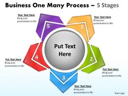 Business One Many Process 5 Stages 6