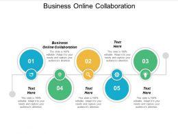 Business Online Collaboration Ppt Powerpoint Presentation Infographic Template File Formats Cpb