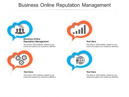 Business Online Reputation Management Ppt Powerpoint Presentation Show Layouts Cpb