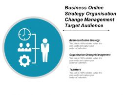 Business Online Strategy Organisation Change Management Target Audience Cpb