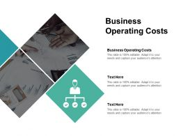 Business Operating Costs Ppt Powerpoint Presentation Model Files Cpb