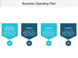 Business Operating Plan Ppt Powerpoint Presentation File Inspiration Cpb