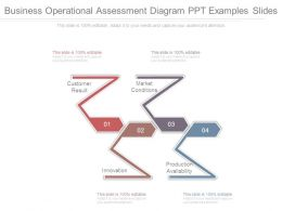 Business Operational Assessment Diagram Ppt Examples Slides