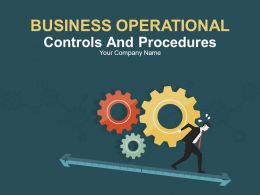 Business Operational Controls And Procedures PowerPoint Presentation With Slides