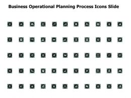 Business Operational Planning Process Icons Slide Technology A100 Ppt Powerpoint Presentation Gallery Example
