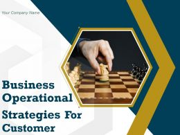 Business Operational Strategies For Customer Powerpoint Presentation Slides