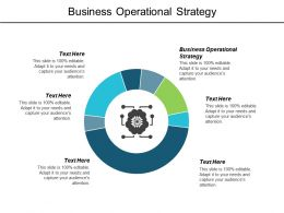 Business Operational Strategy Ppt Powerpoint Presentation Infographics Outline Cpb