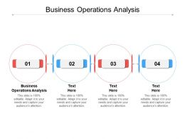 Business Operations Analysis Ppt Powerpoint Presentation Model Example File Cpb