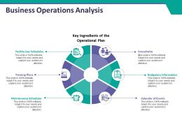 Business Operations Analysis Ppt Summary Example Introduction