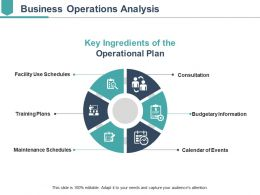Business Operations Analysis Sample Of Ppt Presentation