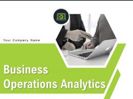 Business Operations Analytics Powerpoint Presentation Slides