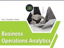 Business Operations Analytics Powerpoint Presentation Slides