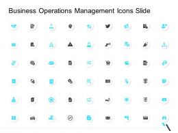 Business Operations Management Icons Slide Ppt Themes