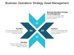 Business Operations Strategy Asset Management Ppt Powerpoint Presentation Portfolio Professional Cpb