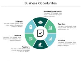 Business Opportunities Ppt Powerpoint Presentation Ideas Files Cpb
