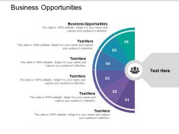 Business Opportunities Ppt Powerpoint Presentation Outline Background Image Cpb