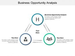 Business Opportunity Analysis Ppt Powerpoint Presentation Model Backgrounds Cpb