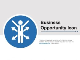 Business Opportunity Icon Example Of Ppt