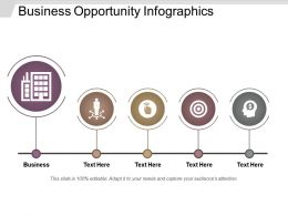 Business Opportunity Infographics Good Ppt Example