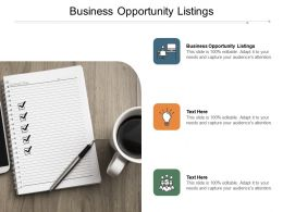 Business Opportunity Listings Ppt Powerpoint Presentation Icon Show Cpb