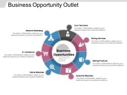 Business Opportunity Outlet Powerpoint Graphics