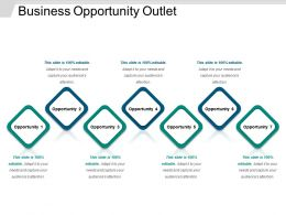 Business Opportunity Outlet Powerpoint Ideas