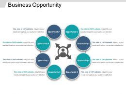 Business Opportunity Powerpoint Layout