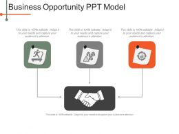 Business Opportunity Ppt Model