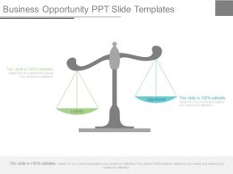 Business Opportunity Ppt Slide Templates