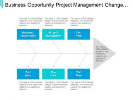Business Opportunity Project Management Change Management Internet Marketing Cpb