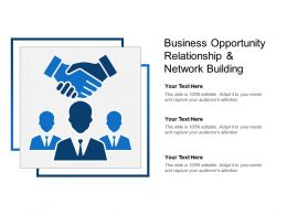 Business Opportunity Relationship And Network Building