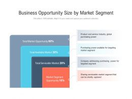 Business Opportunity Size By Market Segment