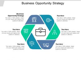 Business Opportunity Strategy Ppt Powerpoint Presentation Visual Aids Diagrams Cpb
