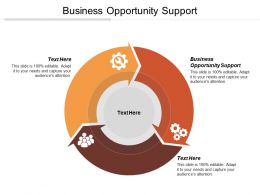 Business Opportunity Support Ppt Powerpoint Presentation File Example Cpb