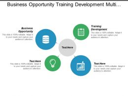 Business Opportunity Training Development Multi Channel Communications Marketing Business Cpb