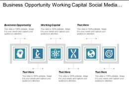 Business Opportunity Working Capital Social Media Human Resource Management Cpb