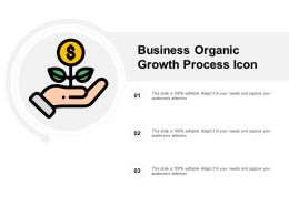 Business Organic Growth Process Icon
