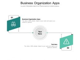 Business Organization Apps Ppt Powerpoint Presentation Infographics Icons Cpb