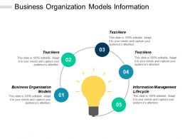 Business Organization Models Information Management Lifecycle Leadership Diversity Cpb
