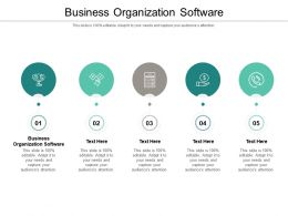 Business Organization Software Ppt Powerpoint Presentation Icon Inspiration Cpb