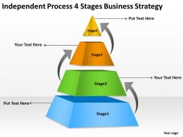 Business Organizational Chart Examples Process 4 Stages Strategy Powerpoint Templates 0515
