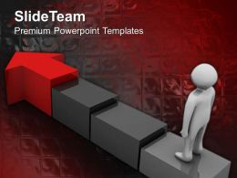 Business Organizational Chart Template Arrow Steps Editable Ppt Theme Powerpoint