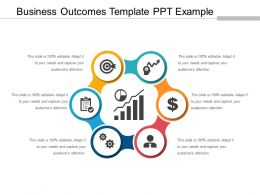 Business Outcomes Template Ppt Example