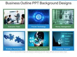 Business Outline Ppt Background Designs