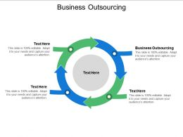 Business Outsourcing Ppt Powerpoint Presentation Slides Icon Cpb
