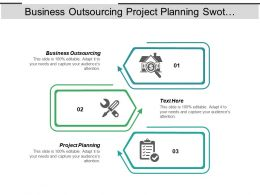 Business Outsourcing Project Planning Swot Business Analysis Cpb