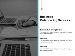 Business Outsourcing Services Ppt Powerpoint Presentation Portfolio Background Images Cpb