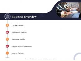 Business Overview Marketing And Business Development Action Plan Ppt Diagrams