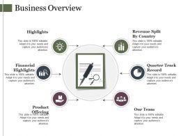 Business Overview Powerpoint Slide Background Designs